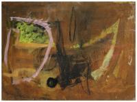 """XABELA VARGAS (1956). """"Composición""""."""