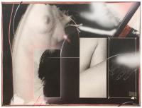 PEDRO GRIFOL (1949). Fotografia en blanco y negro pintada c