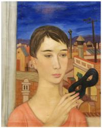 "ALEXANDRE SICHES (1921-2009). ""Joven""."