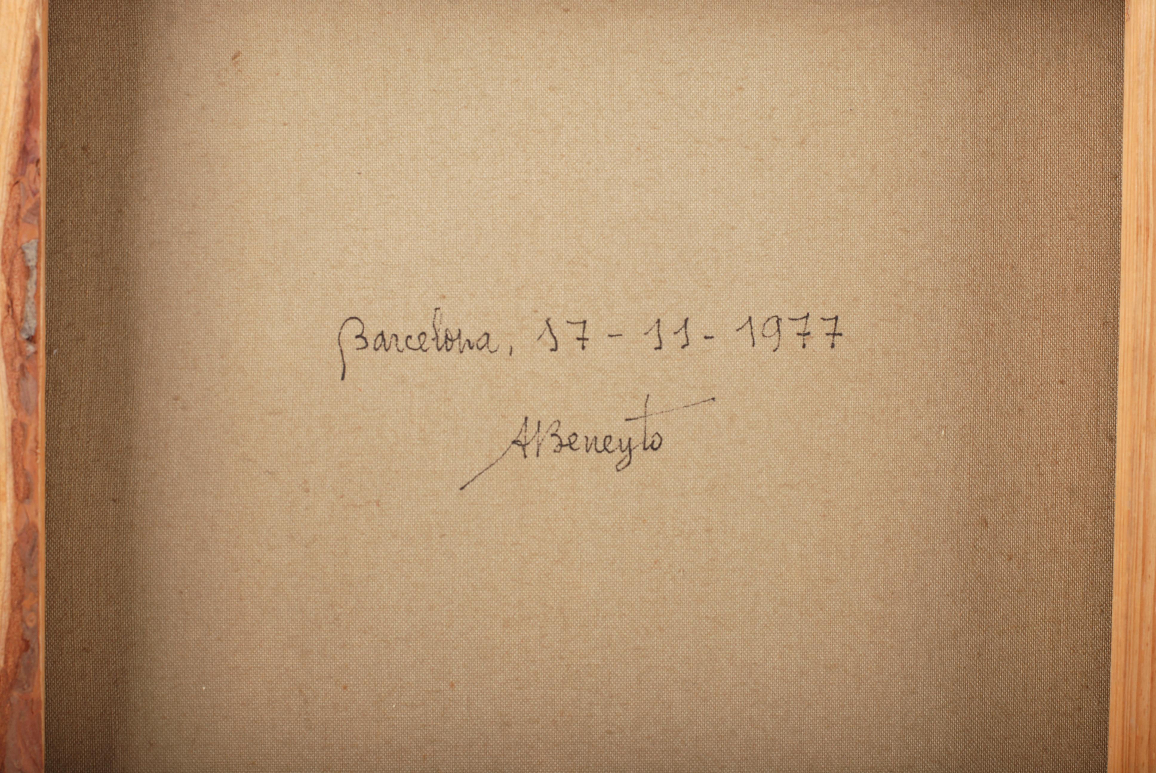 """ANTONIO BENEYTO (1934-2020).  """"PÁJAROS UNIDOS POR UN HILO"""","""