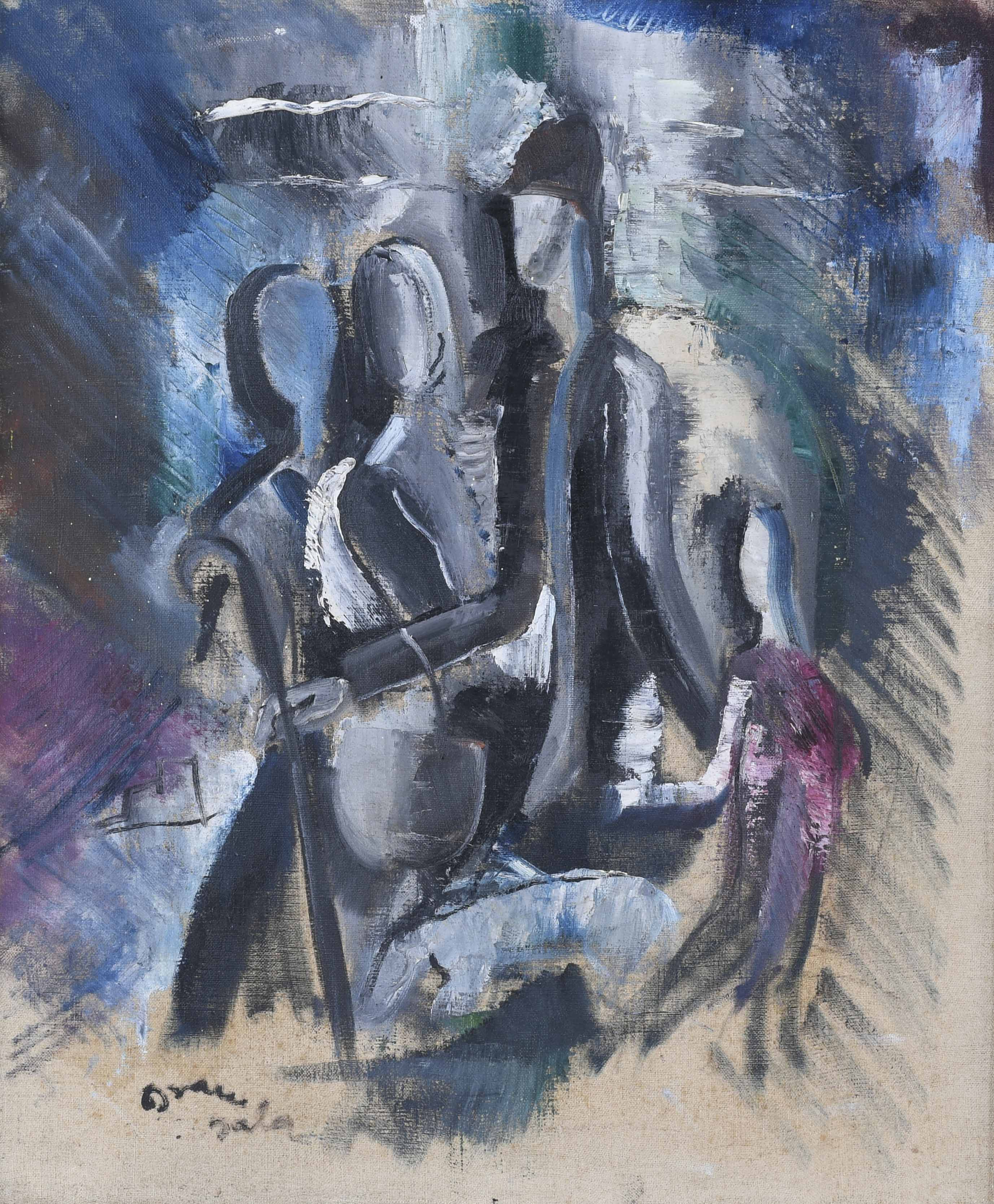 "EMILI GRAU-SALA (1911-1975). ""FIGURAS""."